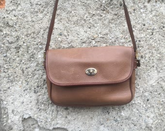 Leather Shoulder Bag Gucci collection of the years ' 80