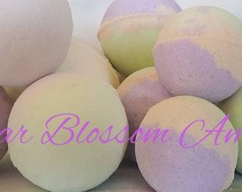Bambino Pear Blossom and Amber Bath Bombs