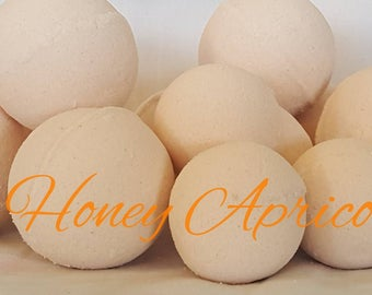 Bambino Honey Apricot Bath Bombs