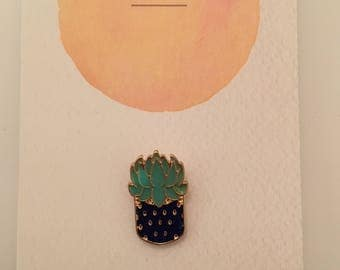 Succulent Plant Badge
