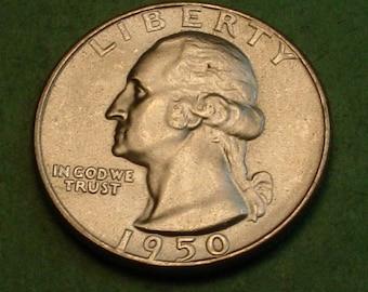 Washington Quarter 1950 Gem BU<> # ET3715