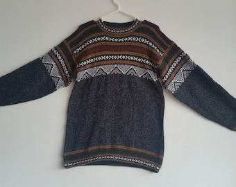 New alpaca wool sweater Dark Gray sizes avaiable S ,M , L XL