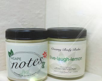 Live * Laugh * Lemon Body Balm