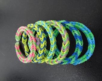 """crazy loom"" bracelet"