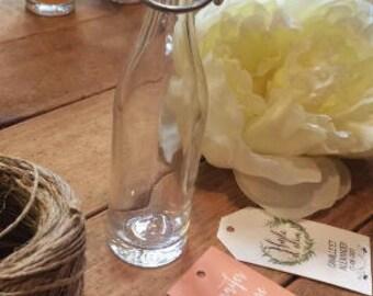 Mignonnette, mini fiole, mini bouteille VIDE contenance 5cl