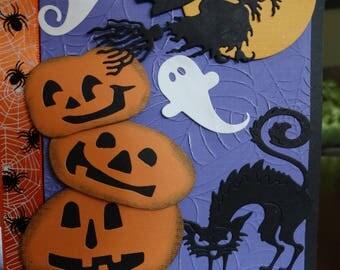 Haunting Halloween Card