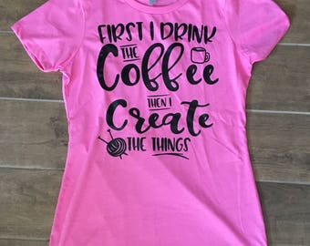 First I drink the coffee then I create the things | yarn | hook | craft