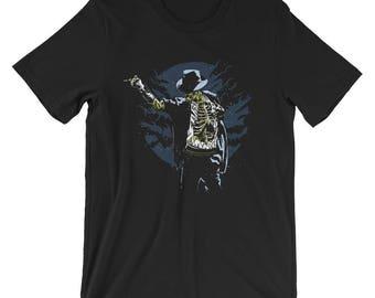 Zombie Michael Jackson Short-Sleeve Unisex T-Shirt