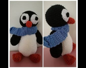 Penguin wool handmade