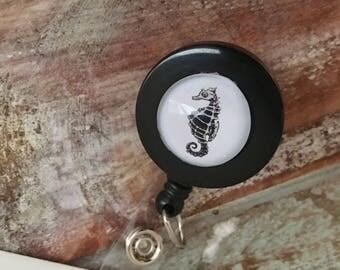 Seahorse ID Badge Holder