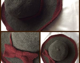 Soldes30%!   CODE: SOLDESCNS. Chic and stylish hat for women with its small Decor roses