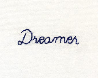 Dreamer embroidered t-shirt