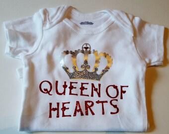 Queen of Hearts Onesie