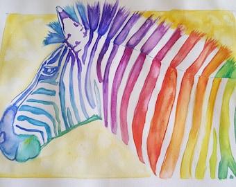 Skittles the Zebra