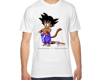 Rise & Grind Kid Goku P2P T-Shirt