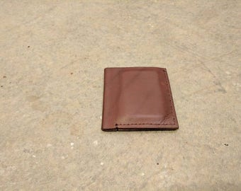 Leather bifold, leather mens wallet