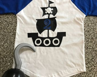 Pirate Birthday Shirt