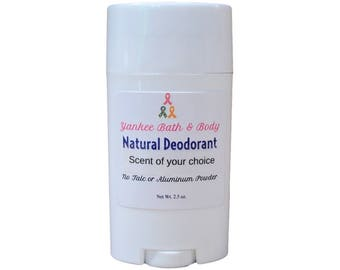 Sensual Amber Scented Powder-Free Natural Deodorant Free Shipping