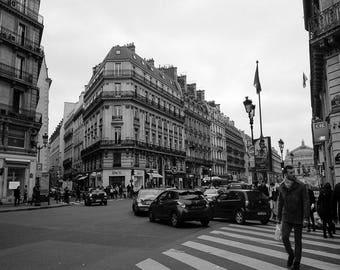 paris print / black and white photography / art prints / wall art prints / paris wall art / home decor / art / paris photography