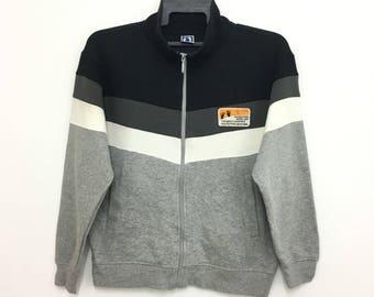 Sale!! HANG TEN Sweater Jacket Full Zipper Surfing Medium Size Nice Design