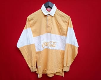 vintage Coca cola rugby small size