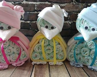 Nappy cake / baby shower gift