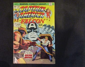 Captain America and The Falcon #179 Marvel Comics 1974