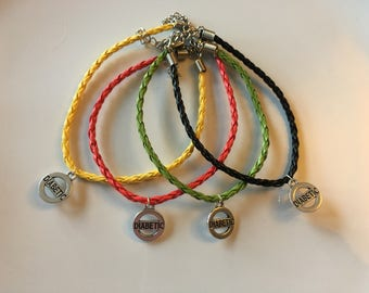 Diabetes awareness bracelet
