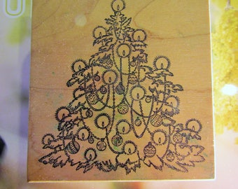 Rubber Stamps ~ Large Christmas tree