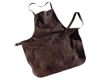 Leather Apron  for barbecue