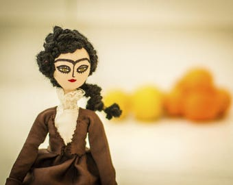 Art doll and decoration