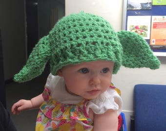 Yoda hat, Star Wars hat, baby hat