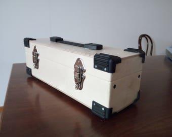 Portable eurorack case 3u powered