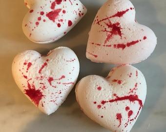 Bleeding Heart Halloween Bath Bomb