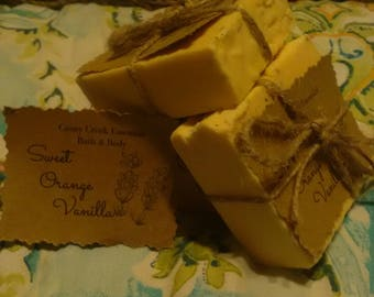 Sweet Orange Vanilla soap