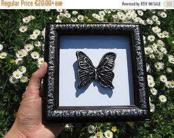 summer discount 20% Summer decor/ black silver butterfly/ summer wedding/ wall butterfly/ summer butterfly/ butterfly art/ wall summer/ butt