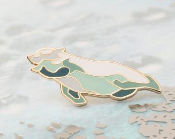 Polar Bear - hard enamel pin