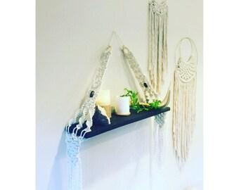 Boho Beaded Shelf