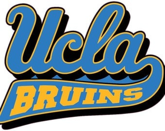 "UCLA BRUINS 5"" to 11"" Full Color vinyl decal sticker"
