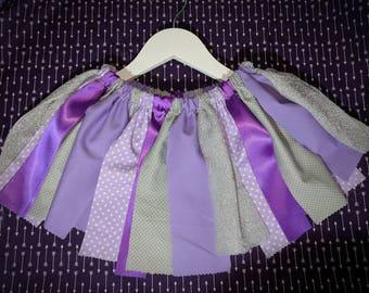 Rag Skirt Handmade and sewn