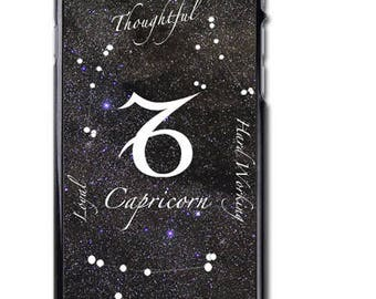Capricorn Zodiac Sign iPhone Case Cover