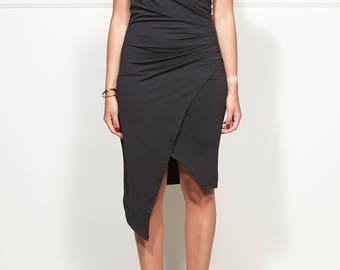 Henry Dounjo Paris draped dress