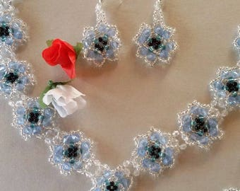 Bridal Jewelry: Necklace, bracelet and earrings