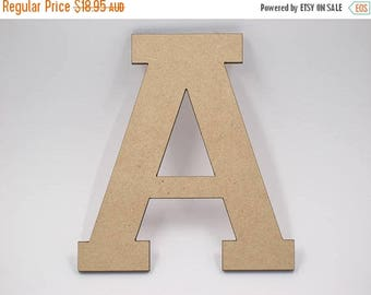 20% OFF 50cm MDF Wood Wooden Letters 3mm Thick VAR