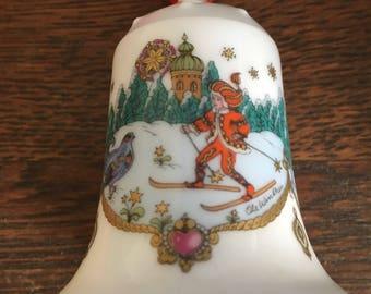 German porcelain bell