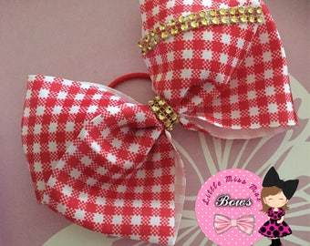Red school bow