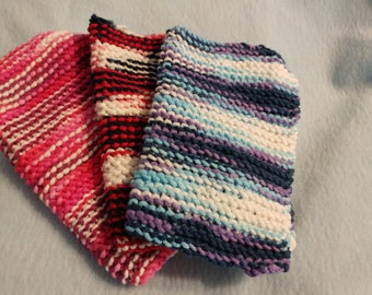 Knitted Dish Cloth/Towels