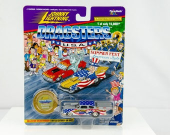 Johnny Lightning Dragsters USA Limited Edition Slammin Sammy 1/64 Diecast