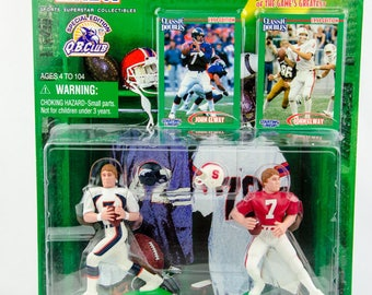 Starting Lineup Classic Doubles NFL John Elway Denver Broncos Action Figure