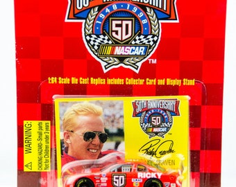 Racing Champions 50th Anniversary Ricky Craven 1/64 Diecast Car - Hendrick